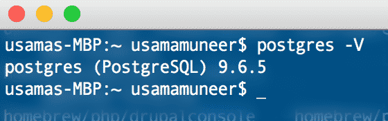 postgres sql screenshot